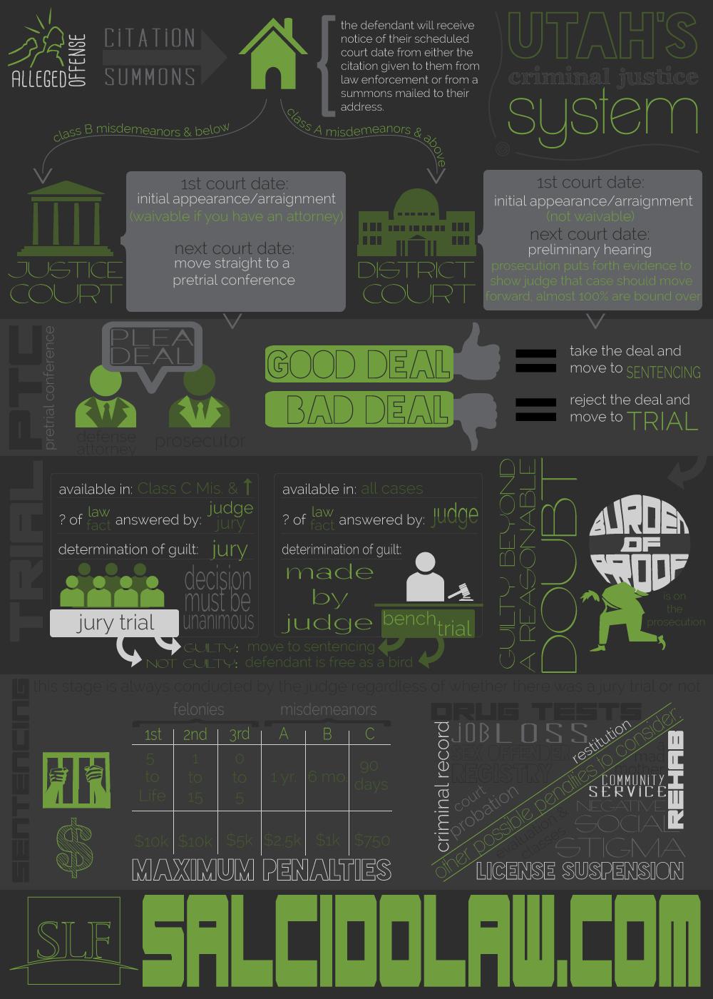 Utah Criminal Defense Infographic