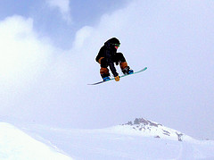 Snowboarding injuries and ski accidents